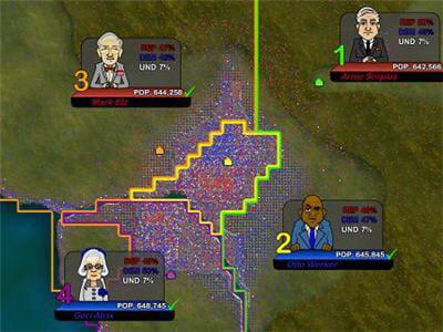 découper les territoires pour créer des majorités