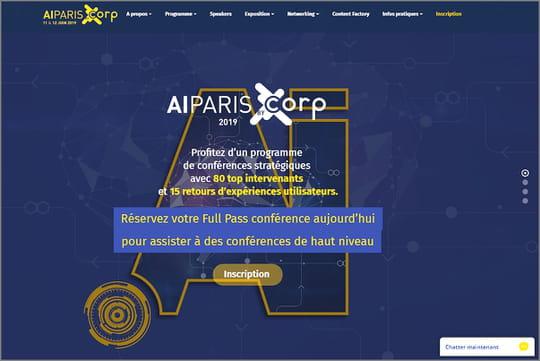 AI Paris 2019: rendez-vous les 11et 12juin au Palais des Congrès