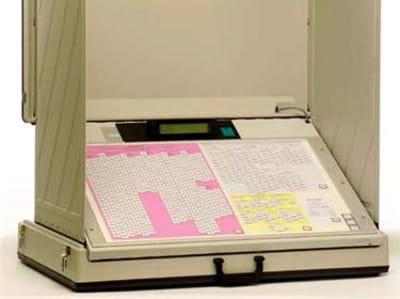 modèle de machine à voter nedap