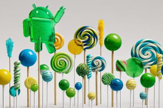 """Android 5 """"Lollipop"""" : un problème de batterie complique le lancement"""