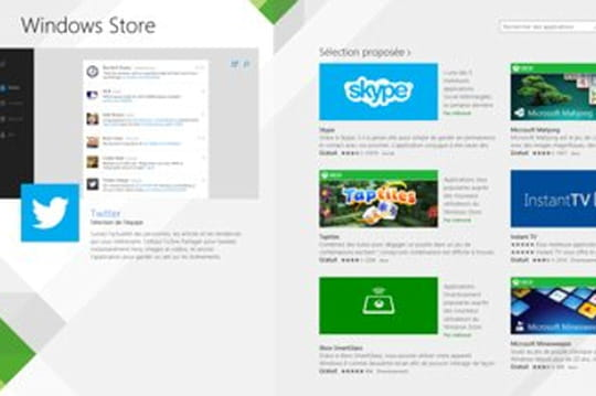 Windows 8.1 : le Windows Store enfin alimenté