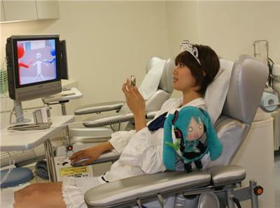 une belle progression des dons de sang dans ce quartier de tokyo.