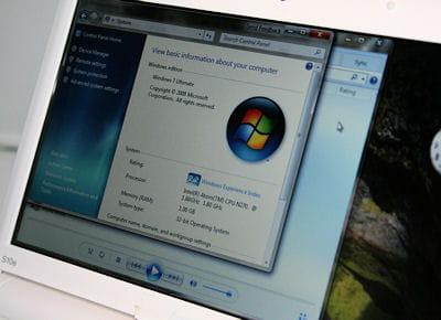 windows 7 est capable de tourner sur des configurations matérielles minimales,