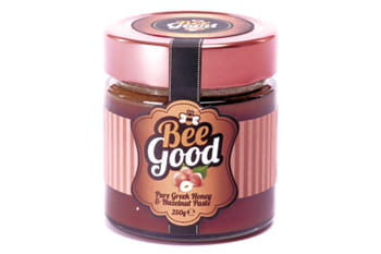 pâte à tartiner au miel et noisettes bee good