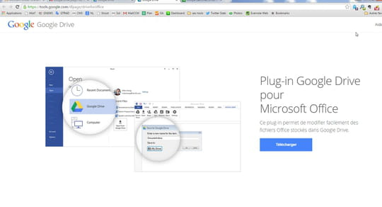 Google Drive s'offre une extension pour la suite Office