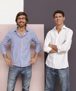hadrien lelong et pierre colnet ont créé cremme.com en 2013.