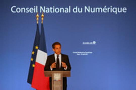 Nicolas Sarkozy installe le Conseil national du Numérique