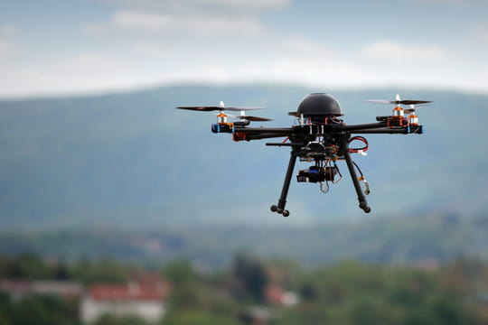 L'envolée des drones français, perturbée après 2015