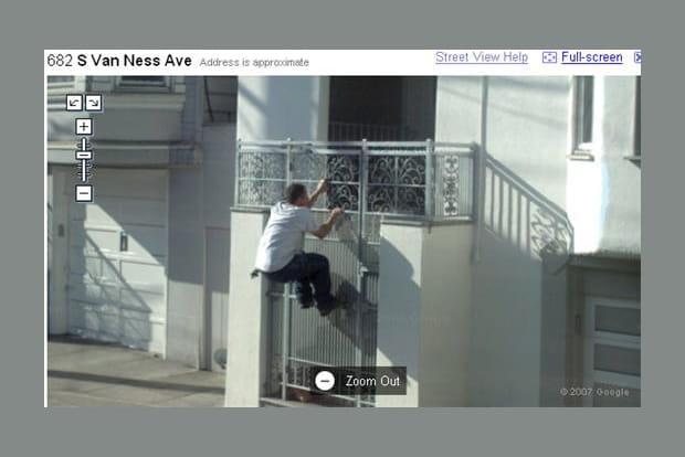Les instantanés de Google Street View