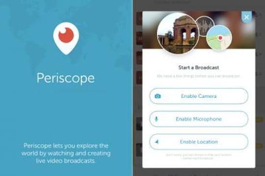 Twitter lance Periscope pour contrer Meerkat