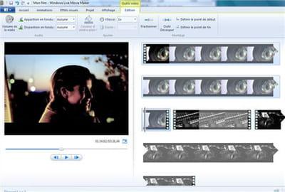 première étape : découper scène à scène votre vidéo sur le banc de montage