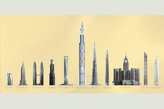 Plus haute que Burj Dubai