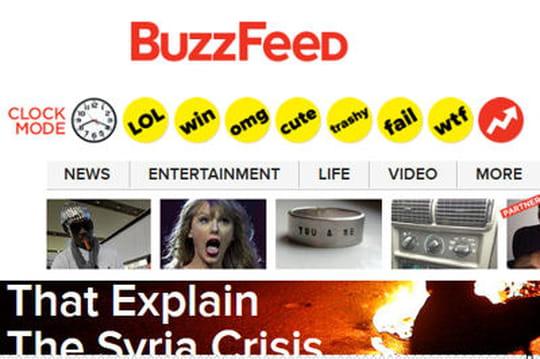 Buzzfeed: la nouvelle pépite du Web qui veut ringardiser les médias