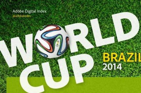 Infographie : les pays qui buzzent le plus autour de la Coupe du Monde
