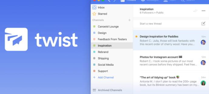 Twist,ce Slack qui veut éviter le piège de la messagerie instantanée