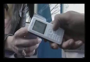 exemple de synchronisation de deux téléphones nfc. copie d'écran tirée d'une