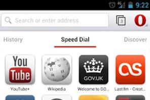 Opera pour Android disponible en version finale avec WebKit
