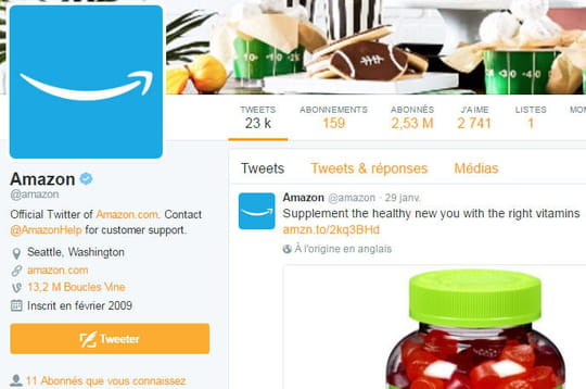 Audience mobile en France : forte hausse pour Twitter et Amazon qui s'installent dans le top 10