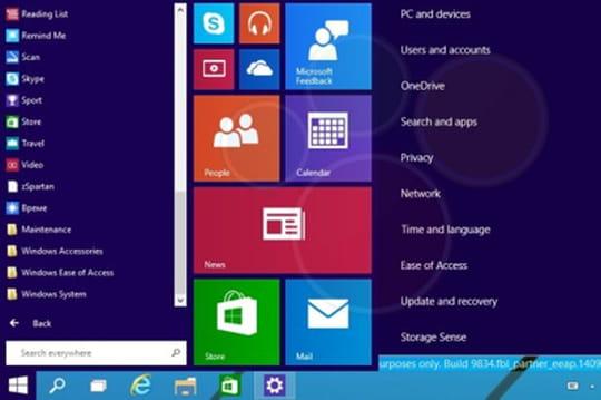 Internet Explorer 12au programme de Windows9?
