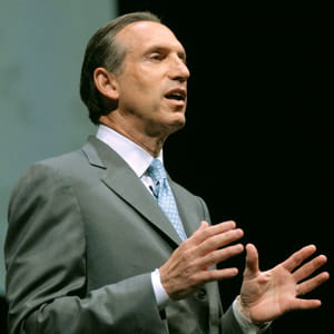 howard schultz, patron de starbucks.