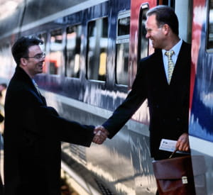 l'entretien ne se termine qu'une fois que vous êtes monté dans le train.