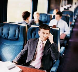 le train a cet avantage qu'il vous offre un confort de voyage que l'avion ne