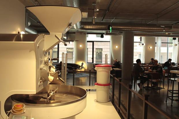 Un torréfacteur de café symbolise le goût de Dropbox pour le travail bien fait