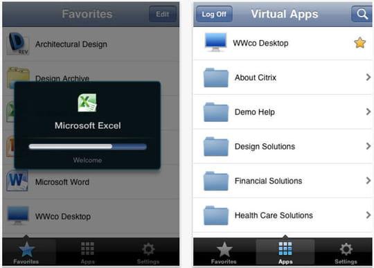 Citrix receiver pour ipad le streaming d 39 applications pros for Application miroir pour ipad