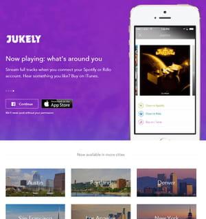 jukely recommande et offre des places de concerts.