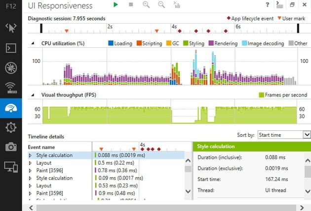 internet explorer 11 ui responsiveness
