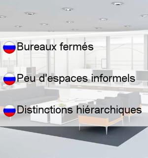les bureaux en russie.