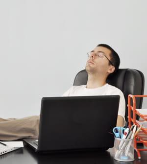 relâcher votre posture est mauvais pour votre dos.
