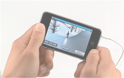 le jeu de snowboard slope rider