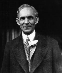 soutenu, henry ford est devenu le 1er constructeur automobile.