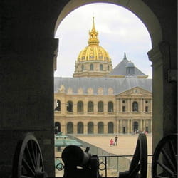 les invalides, à paris.