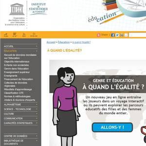 un jeu de simulation pour s'informer sur les inégalités entre hommes et femmes
