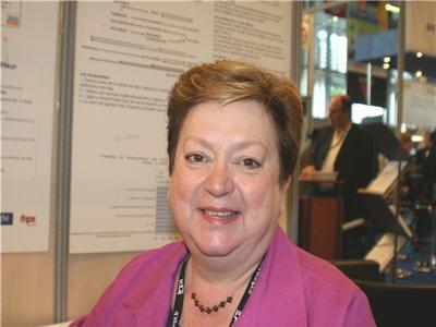 dominique vallée, présidente du salon i-expo