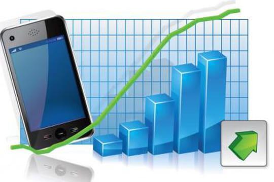 Les smartphones constituent plus de la moitié du parc mobile aux US