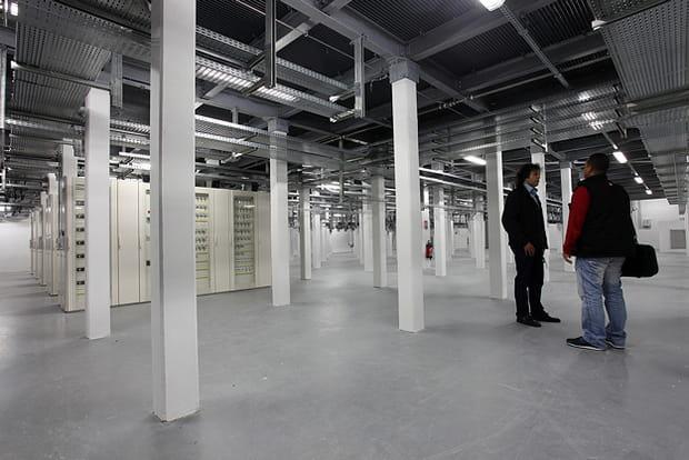 Un data center extensible jusqu'à 20000m2de salles informatiques