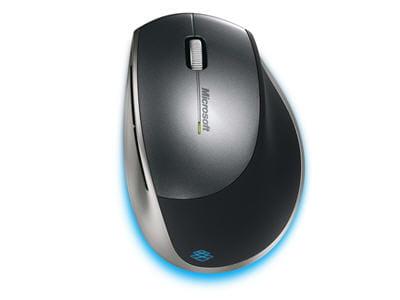 la explorer mouse vue de dessus