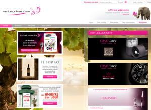 le trafic mensuel de vente-privee.com se porte à 6,4 millions de visiteurs