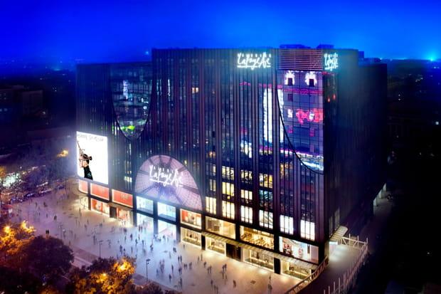 Galeries Lafayette à Pékin