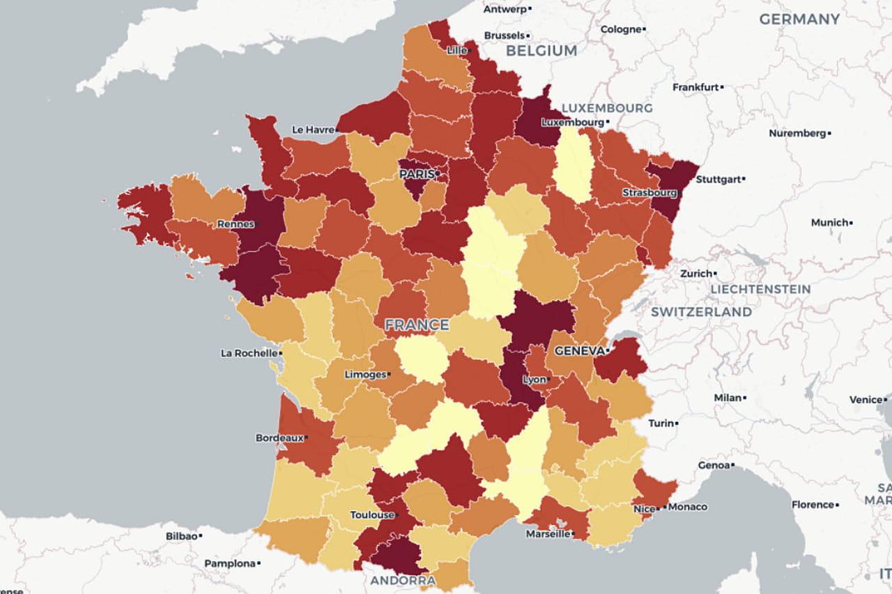 Baromètre de l'emploi post-covid: ça repart... surtout en zone rurale
