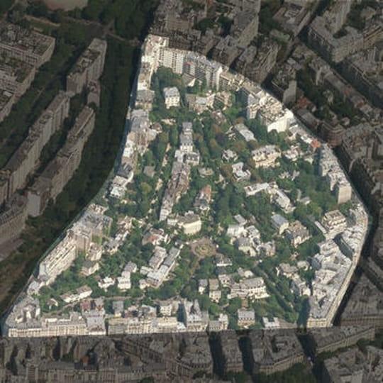 La villa montmorency paris quartier de superlatifs - La villa berkel par paul de ruiter ...