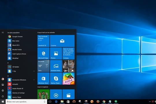 Windows 10: prix, édition, configuration...