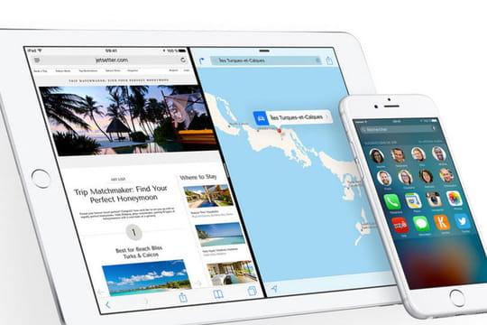 Apple met à jour iOS 9