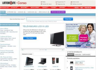 page d'accueil du comparateur de prix kelkoo