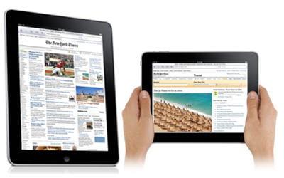 l'ipad est pensé pour un confort de lecture optimum