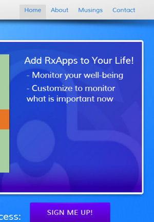rxapps surveille les changements de comportement des patients.